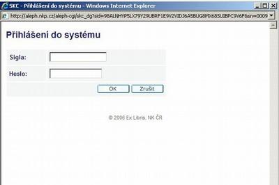 1646088e94 system prihlaseni.jpg — Souborný katalog ČR - Portál CASLIN